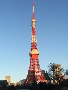東京タワー元旦